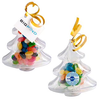 Promotional Product 50gm Acrylic Trees Filled with Jelly Beans