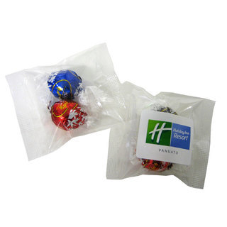 Promotional Product Lindor Balls in Cello Bag X2