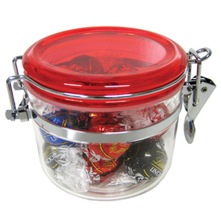 Promotional Product Canister Filled with Lindor Balls X 12