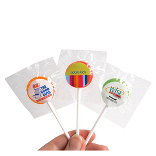 Promotional Product Small Branded Lollipops 8gm