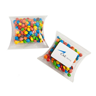 Promotional Product Mini M&Ms in PVC Pillow Pack 50G (Mixed Colours Only)