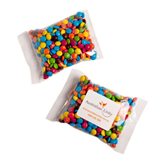 Promotional Product Mini M&Ms Bags 100G (Mixed Colours Only)