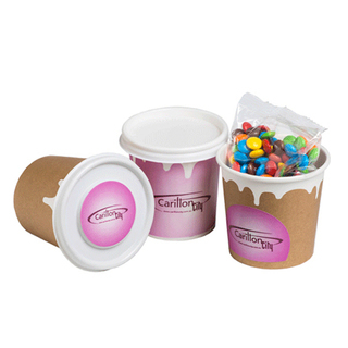 Promotional Product Coffee Cup Filled with M&Ms 50G