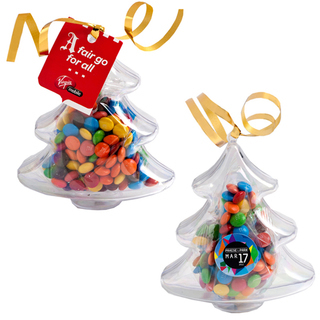 Promotional Product Acrylic Trees Filled with M&Ms 50G