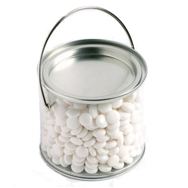 Promotional Product Medium PVC Bucket Filled with Mints 400G