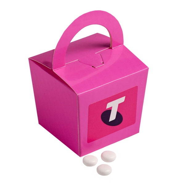 Promotional Product Coloured Noodle Box Filled with Mints 100G