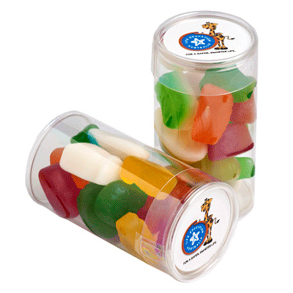 Promotional Product Pet Tube Filled with Mixed Lollies 95G