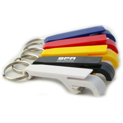 Promotional Product Plastic Flip Top Bottle Opener