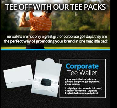 Promotional Product Corporate Tee Wallet