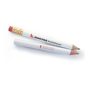 Promotional Product Golf Half Pencil with eraser