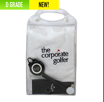 Promotional Product Golfers Carry Combo Pack D