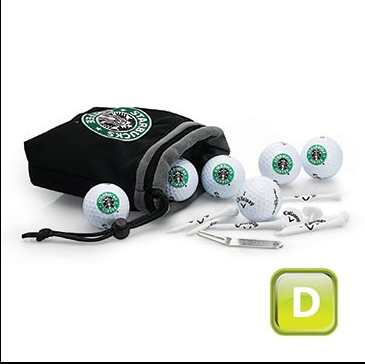 Promotional Product Callaway 6 Ball Valuables Pouch Combo - D Grade