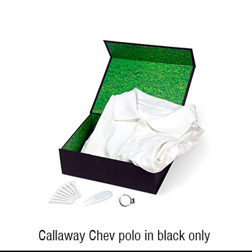 Promotional Product Callaway Chev Polo Box Combo