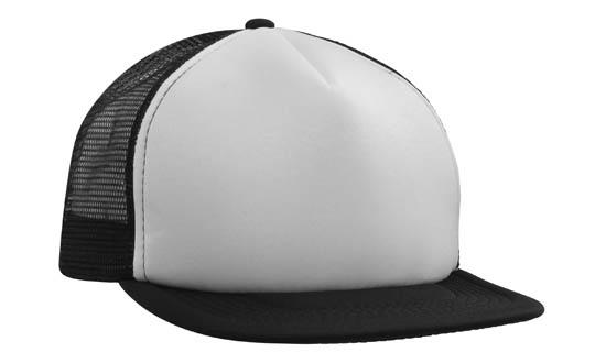 Promotional Product Trucker Mesh Cap With Flat Peak
