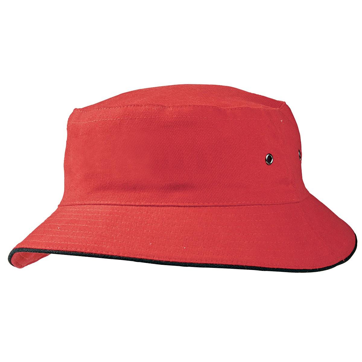 Promotional Product Bucket Hat/Contrast Sandwich Brim