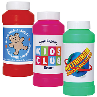 Promotional Product Assorted Colour Bubbles in Bottles