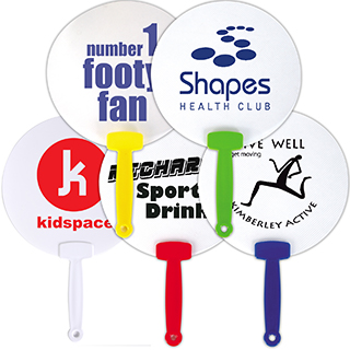 Promotional Product HAND HELD PLASTIC FANS
