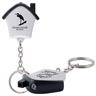 Promotional Product MINI HOUSE FLASHLIGHT KEYTAG