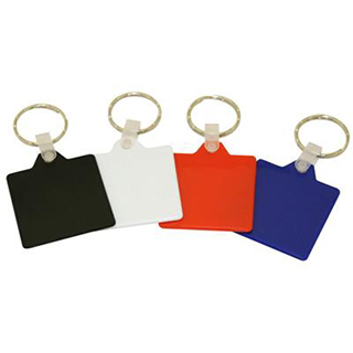Promotional Product Colourful Keytags - Square