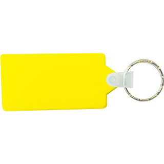 Promotional Product Colourful Keytag - Rectangular