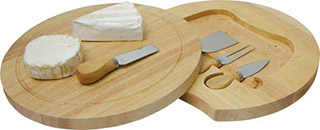 Promotional Product Swivel Cheese Board Set