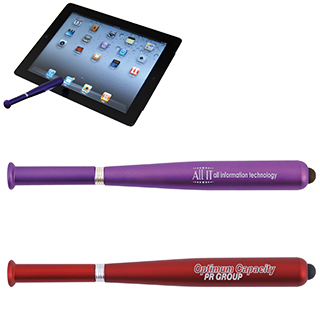 Promotional Product Baseball Bat Ballpoint Pen / Stylus
