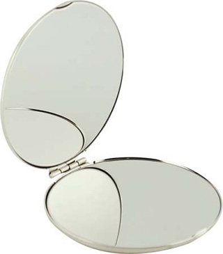 Promotional Product Luxor Compact Mirror
