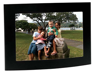 Promotional Product Arc Matt Black Photo Frame