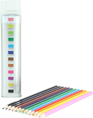Promotional Product Pyramid 12pc Pencil Set