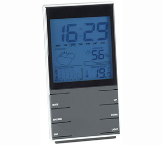 Promotional Product Desktop Weather Clock