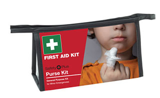 Promotional Product Purse First Aid Kit