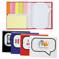 Promotional Product Speech Bubble Notepad with Flags