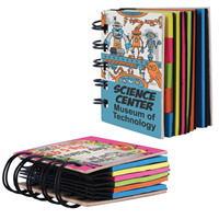 Promotional Product Spiral Book with Noteflags