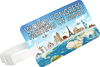 Promotional Product Atlas Luggage Tag