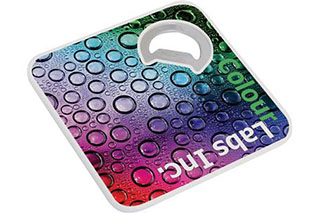 Promotional Product Bottle Bud Opener - Coaster