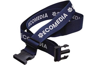 Promotional Product Destination Luggage Strap