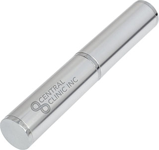 Promotional Product Pen Presentation Tube - Silver
