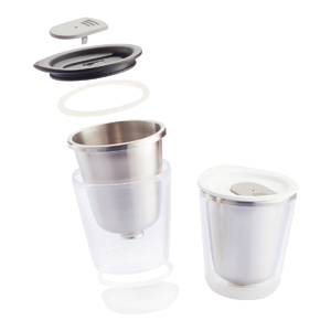 Promotional Product Dia White Travel Mug