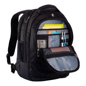 Promotional Product Swiss Peak Outdoor Laptop Backpack