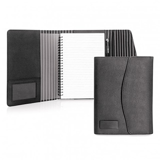 Promotional Product Luxe Koskin Notebook Folder