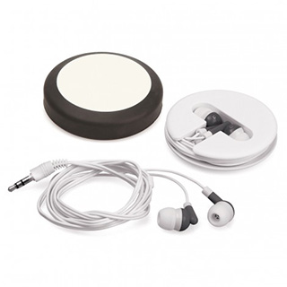 Promotional Product Roll Up Earphones