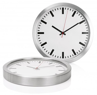 Promotional Product Metal Wall Clock - 40cm