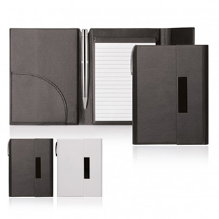 Promotional Product Elegance A6 Notepad Folder