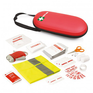 Promotional Product 40 Piece Emergency First Aid Kit