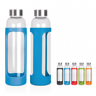 Promotional Product 600ml Glass Drink Bottle