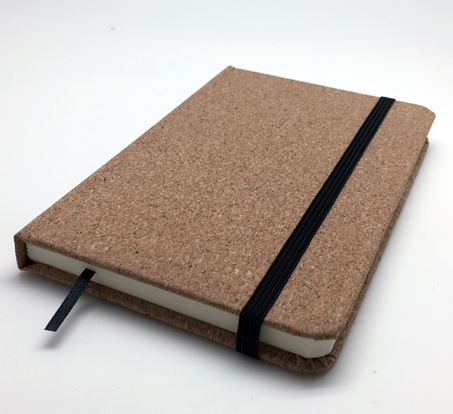 Promotional Product Cork Soft Wood Note Book