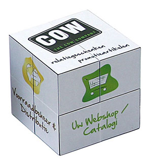 Promotional Product Mini Promo Cube