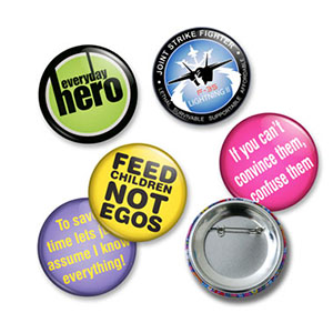 Promotional Product Button Badge - 25mm