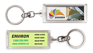 Promotional Product Flashing Keyring