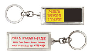 Promotional Product Double Flashing Keyring